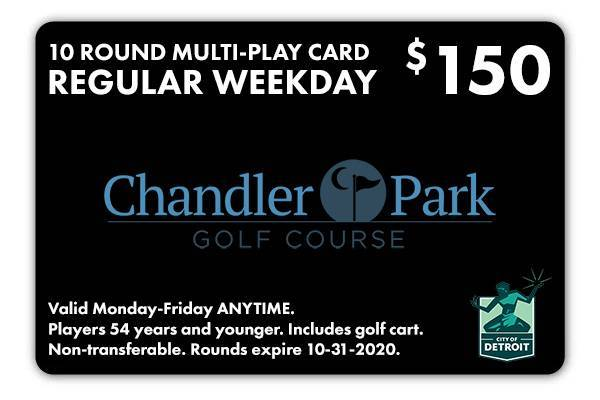 Chandler Park Multi-Play Card